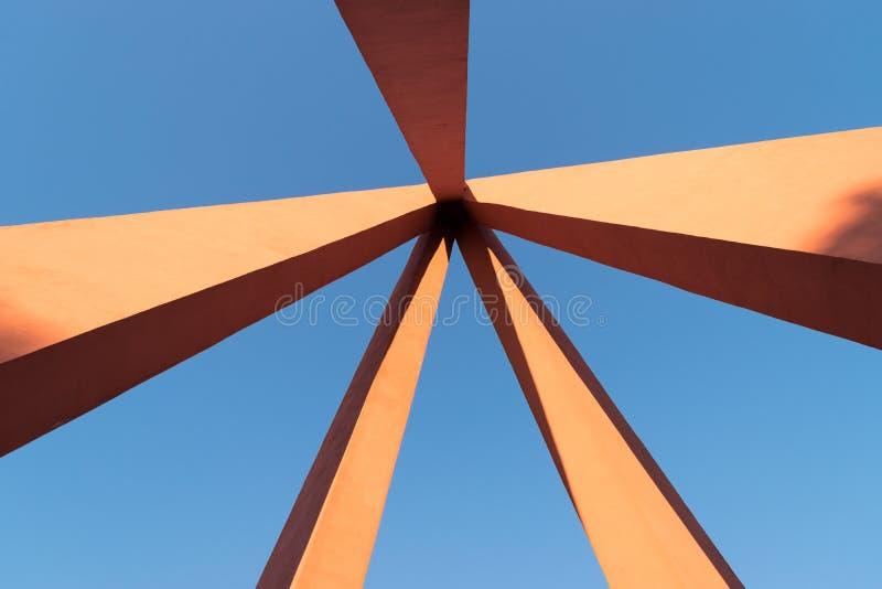 Parte da área complexa memorável dedicada às vítimas da parte dianteira oriental da segunda guerra mundial imagens de stock