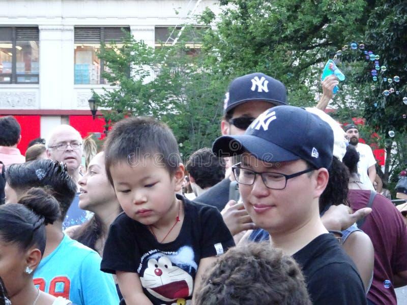 Parte 3 27 da batalha NYC 2016 da bolha imagem de stock