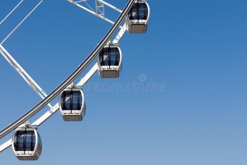 Download Peça Da Roda De Ferris De Quatro Brancos Imagem de Stock - Imagem de metal, ferris: 29839441