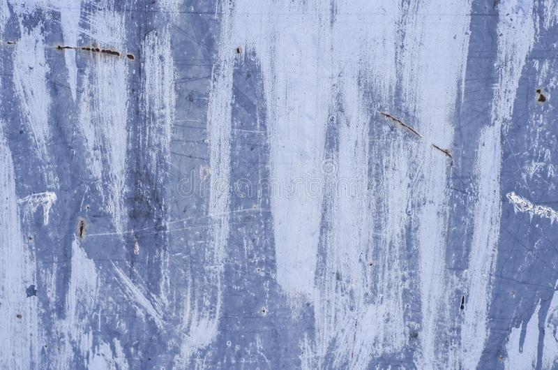 Parte da superf?cie oxidada velha suja Texturas multicoloridos do metal poster Decora??o interior fotografia de stock royalty free