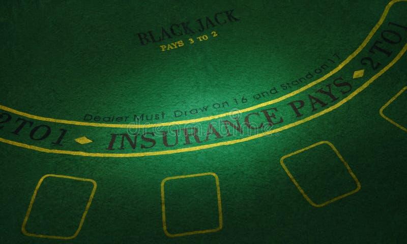 Parte da tabela do pôquer Imagem de alta resolução foto de stock royalty free