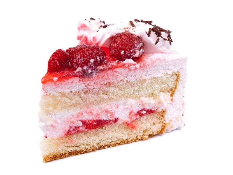 Parte de bolo imagens de stock