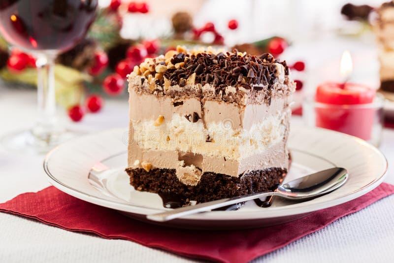 Parte de bolo da merengue fotos de stock royalty free