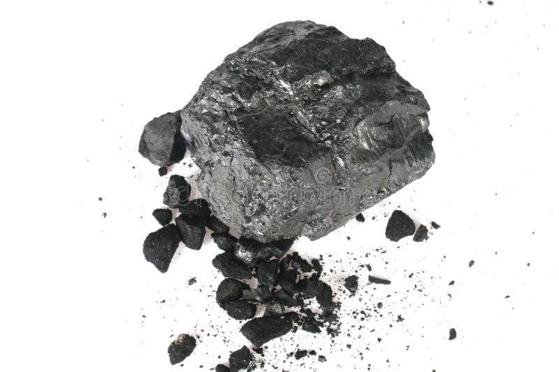 A parte de carbono e das migalhas foto de stock royalty free