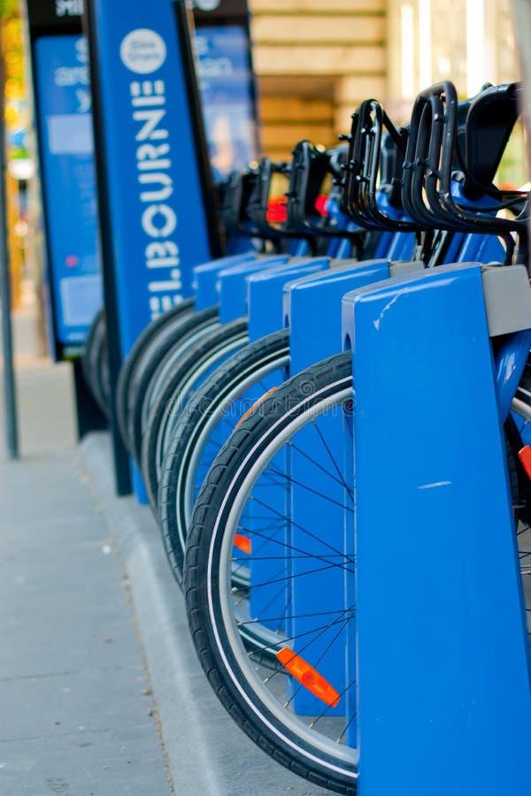 Parte de la bici de Melbourne imagen de archivo