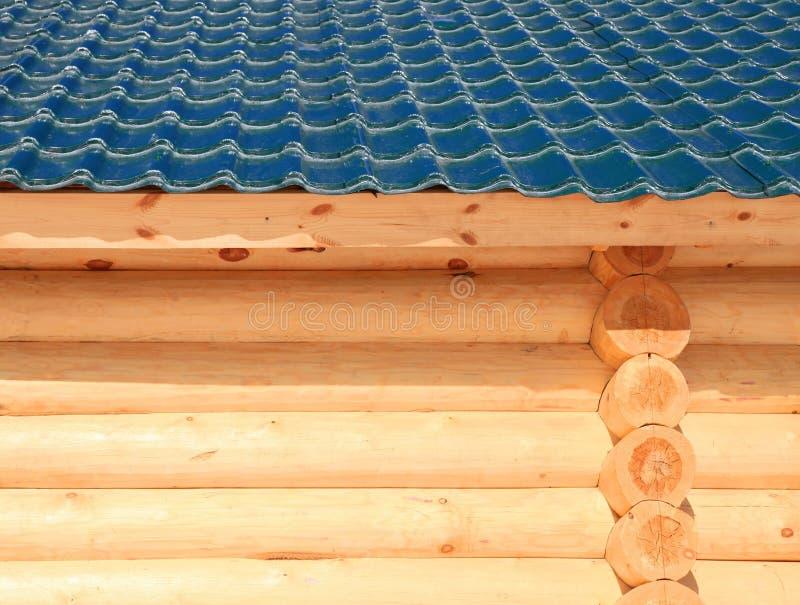 Parte de la casa de madera imágenes de archivo libres de regalías