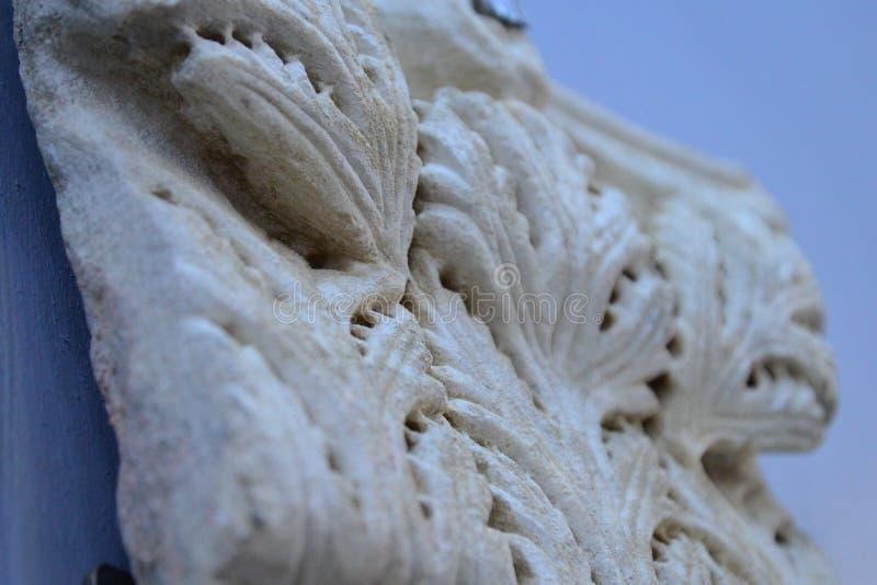 Parte de mármore deixada da era antiga imagem de stock royalty free
