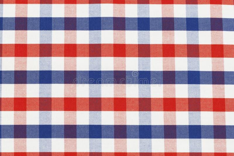 Parte de pano Checkered imagem de stock royalty free