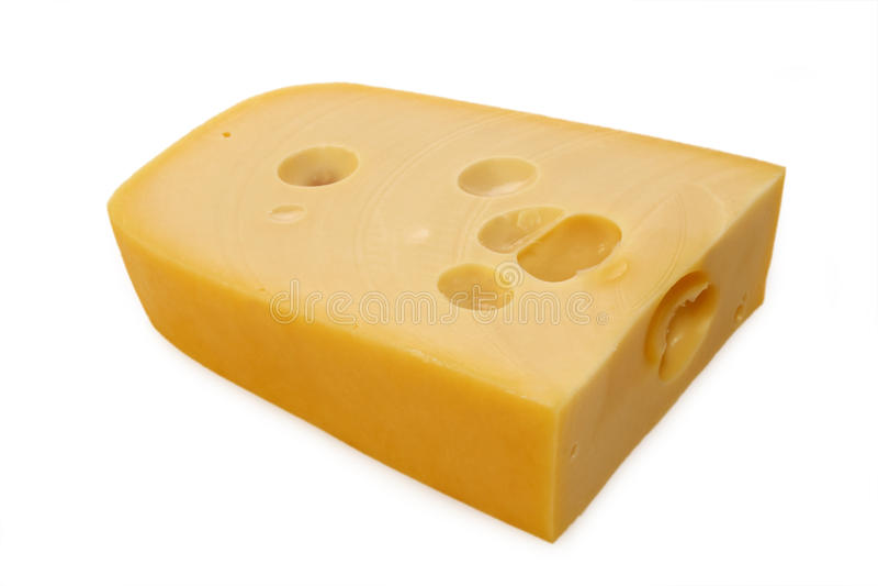 Parte de queijo imagens de stock