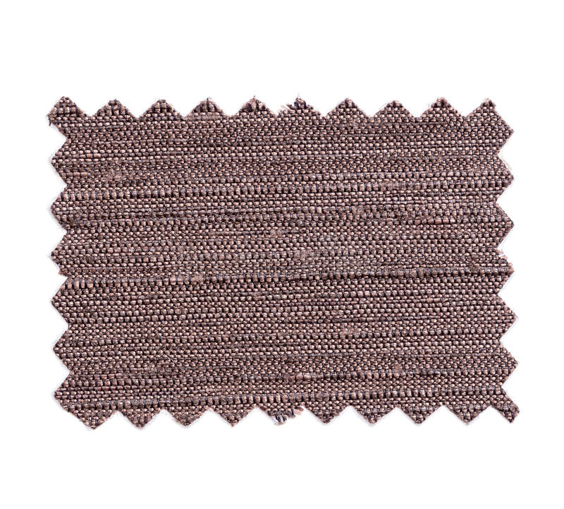 Parte de tela da cor da amostra isolada no branco fotos de stock
