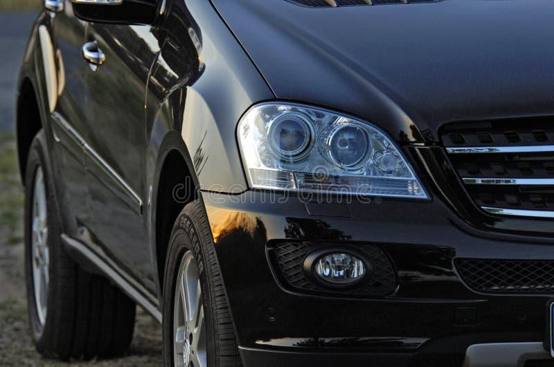 Parte de um Benz ml de Mercedes imagem de stock royalty free