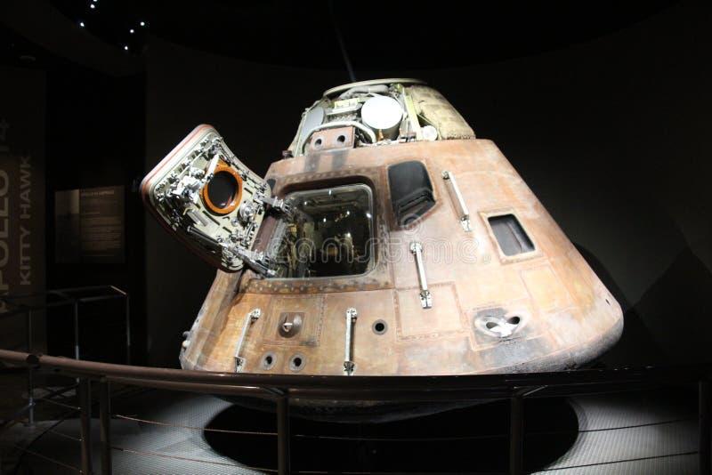 Parte de um foguete Saturn V imagem de stock royalty free