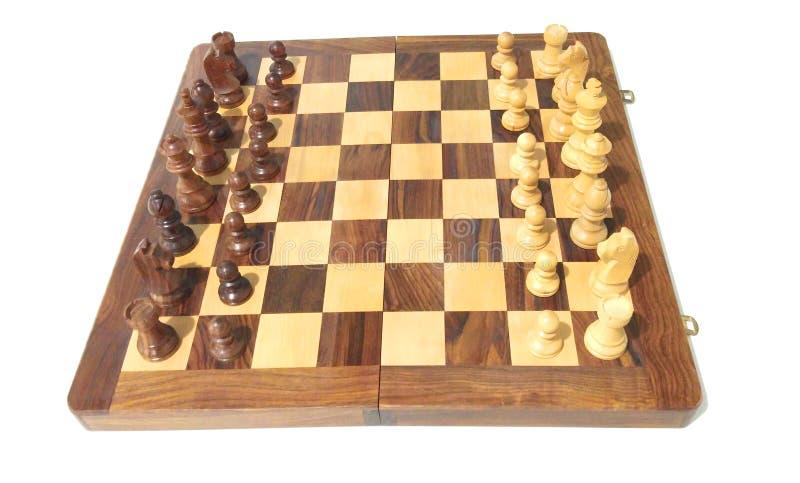 Parte de xadrez na placa de xadrez imagem de stock royalty free