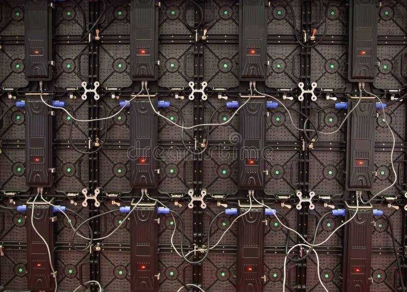 Parte del monitor del LED immagine stock