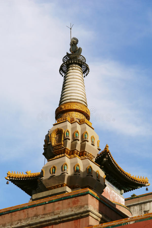Parte del palacio de verano, Pekín fotografía de archivo