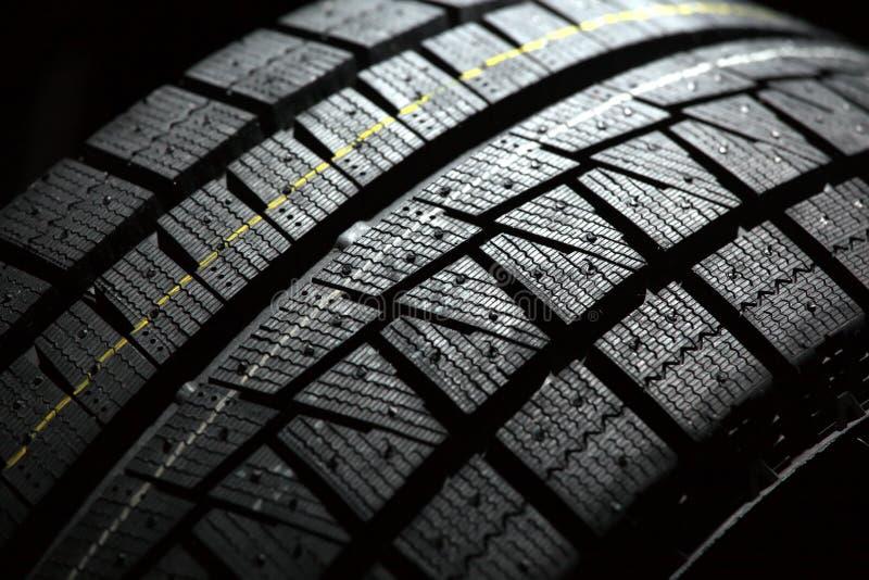 Parte del pneumatico brandnew dell'automobile. fotografie stock