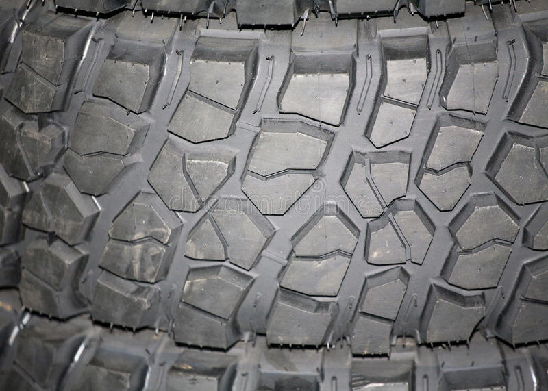 Parte del pneumatico brandnew dell'automobile fotografie stock