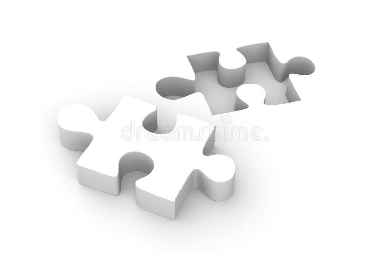 Parte del puzzle royalty illustrazione gratis