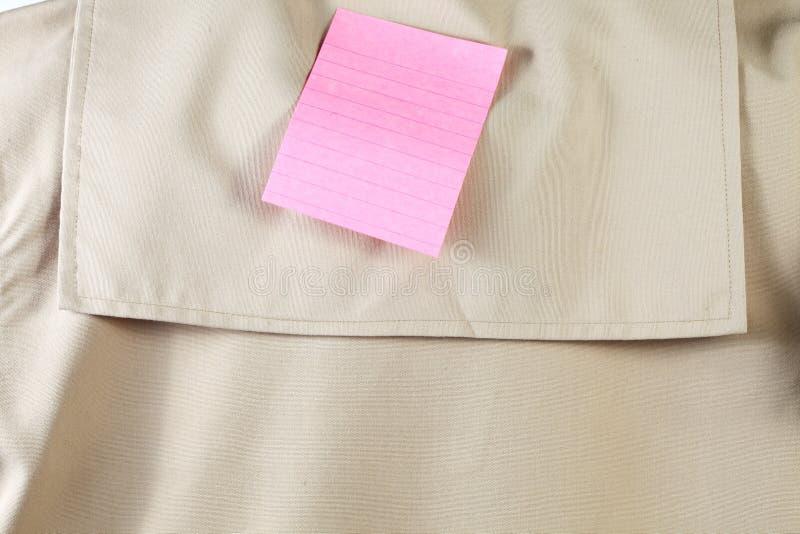 Parte dell'uniforme dell'esploratore della marina fotografia stock libera da diritti