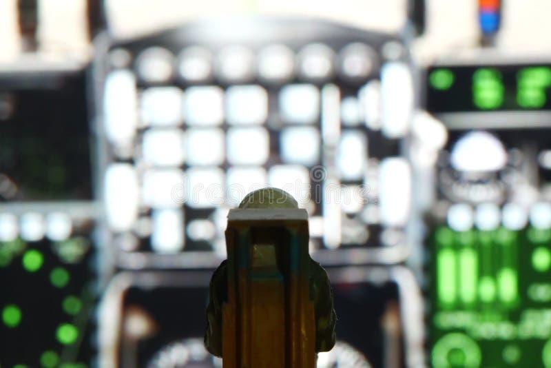 Parte della figura di modello miniatura della scena del pilota dell'aeronautica fotografia stock