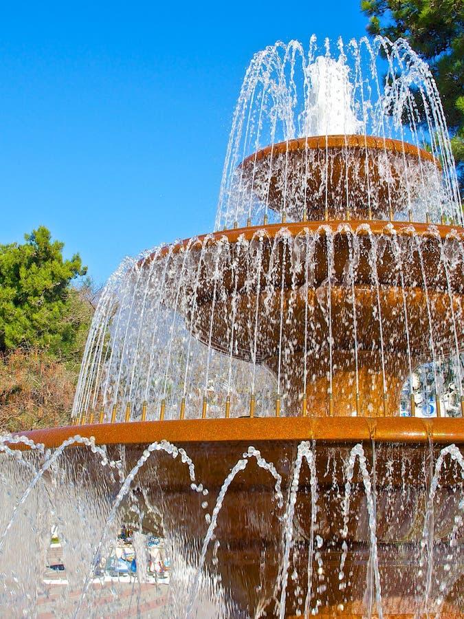 Parte della fontana fotografia stock