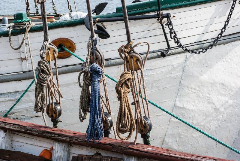 Parte della nave fotografia stock
