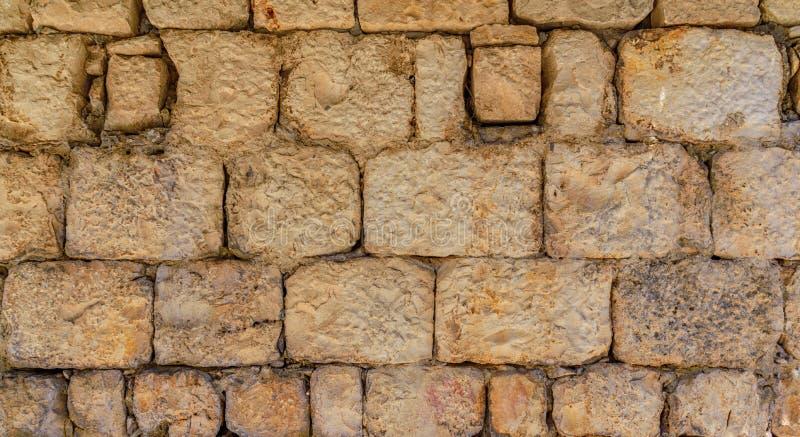 Parte della parete di pietra immagini stock