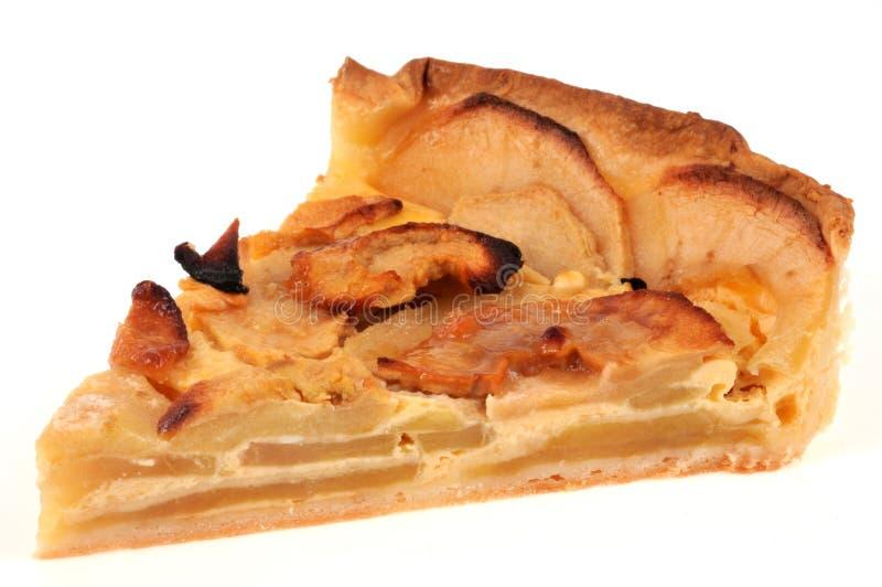 Parte della torta di mele casalinga fotografia stock
