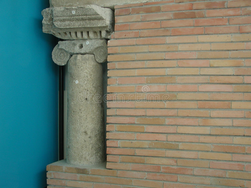 Parte di museo di Callatis fotografie stock libere da diritti