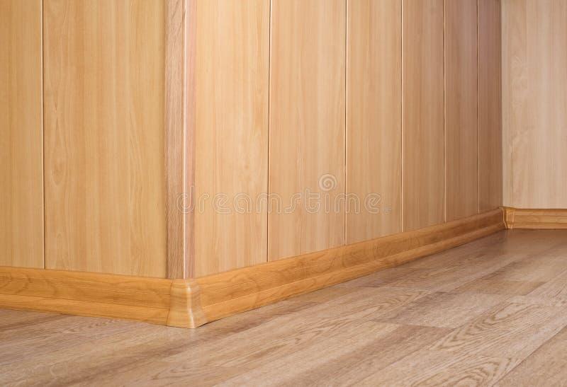 Parte di un pavimento e di una parete fotografia stock libera da diritti