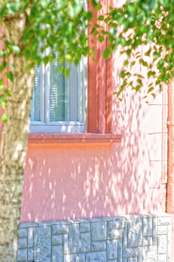 Parte di una casa fotografia stock
