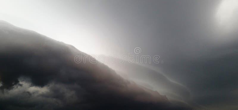 Parte dianteira ameaçando da tempestade fotografia de stock