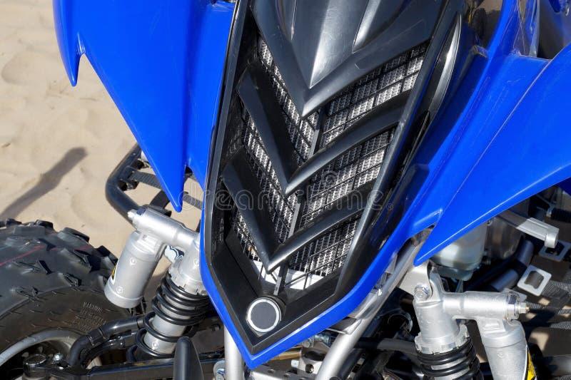 Parte dianteira ATV fotografia de stock