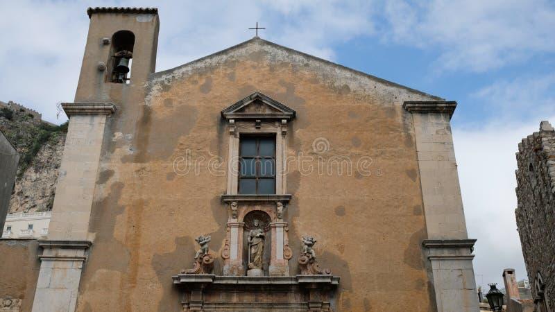 Parte dianteira da basílica Santissimo Salvatore foto de stock royalty free