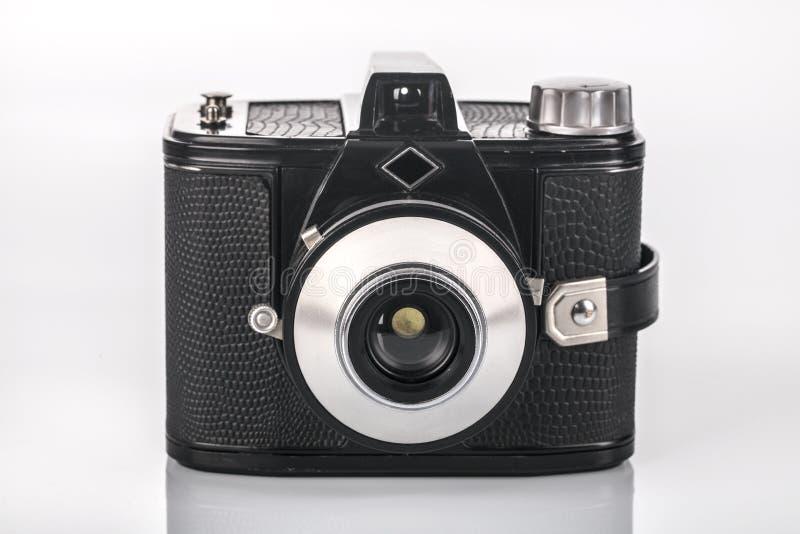 Parte dianteira da câmera retro imagens de stock royalty free