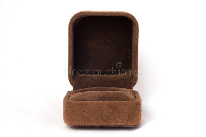 Parte dianteira da caixa do anel imagem de stock