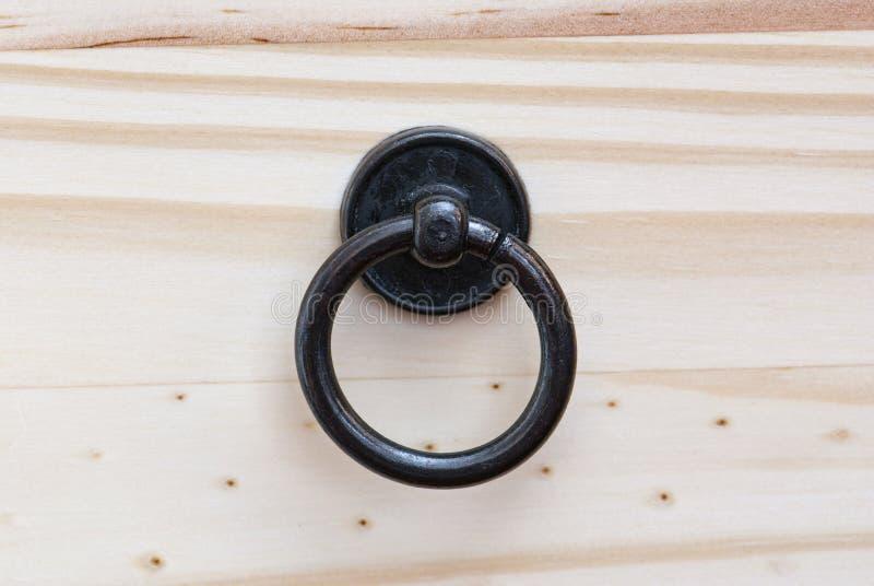 Parte dianteira da gaveta com punho da gaveta imagem de stock royalty free
