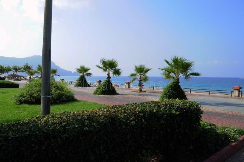 Parte dianteira da praia de Kleopatra foto de stock royalty free