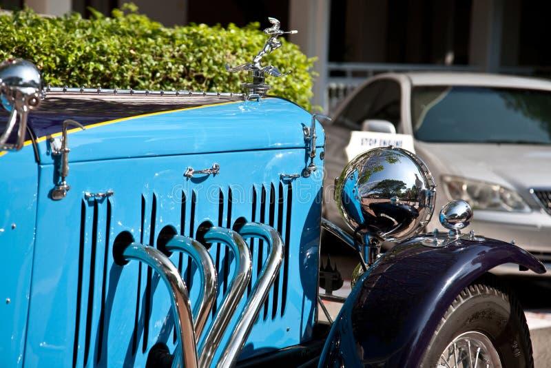 Parte dianteira da velocidade 20 de Alvis na parada do carro do vintage imagem de stock