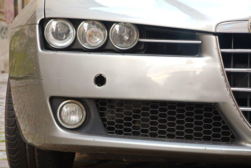Parte dianteira de Alfa Romeo 159 imagem de stock