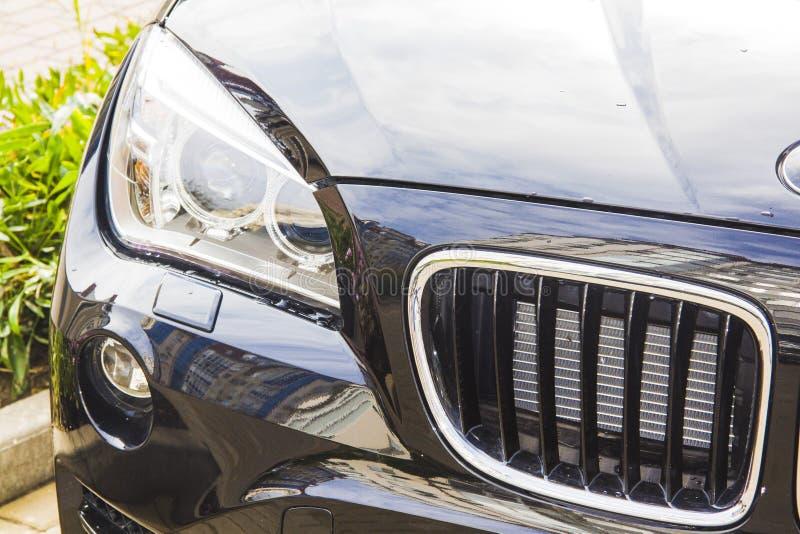 Parte dianteira de BMW fotografia de stock