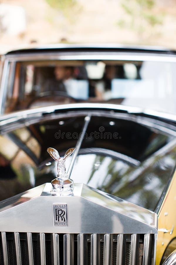 Parte dianteira de Rolls Royce imagem de stock