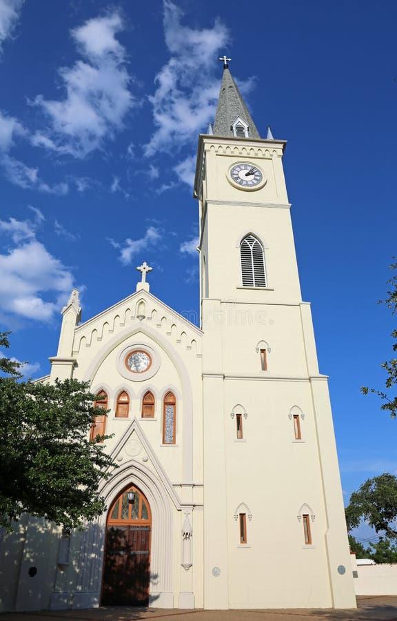 Parte dianteira de San Augustin de Laredo foto de stock