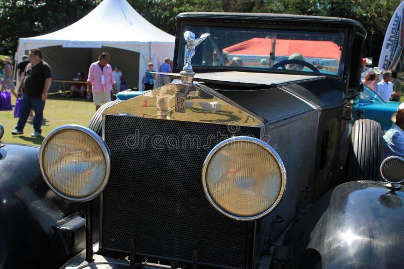 Parte dianteira do carro antigo fotos de stock royalty free