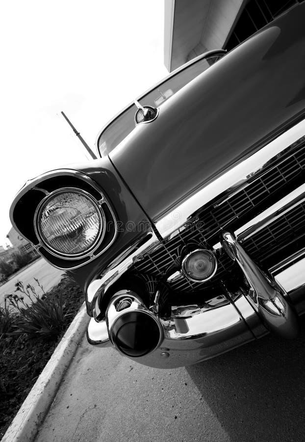 Parte dianteira do carro do russo do vintage imagem de stock royalty free