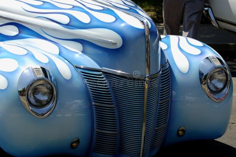 Parte dianteira do carro do vintage fotografia de stock