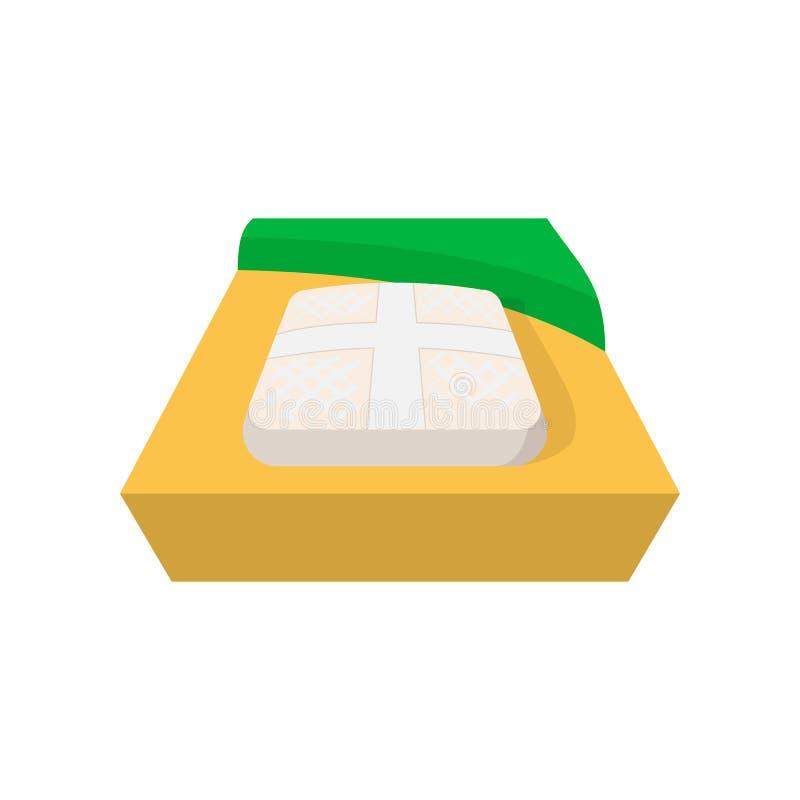 Parte do ícone do campo de basebol ilustração stock
