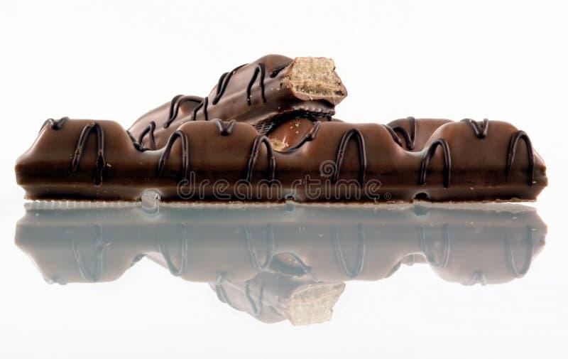 Parte do chocolate imagens de stock royalty free