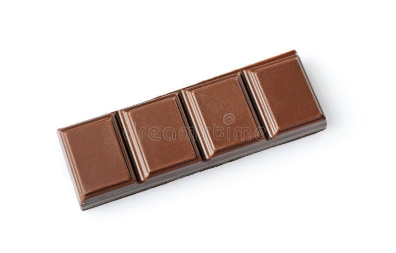 Parte do close-up de barra de chocolate do leite imagens de stock royalty free
