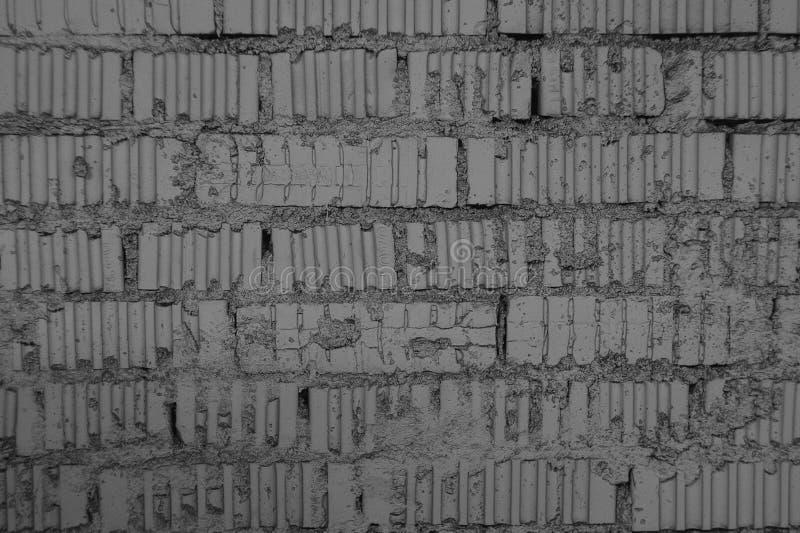 Parte do fundo branco da parede de tijolo imagens de stock
